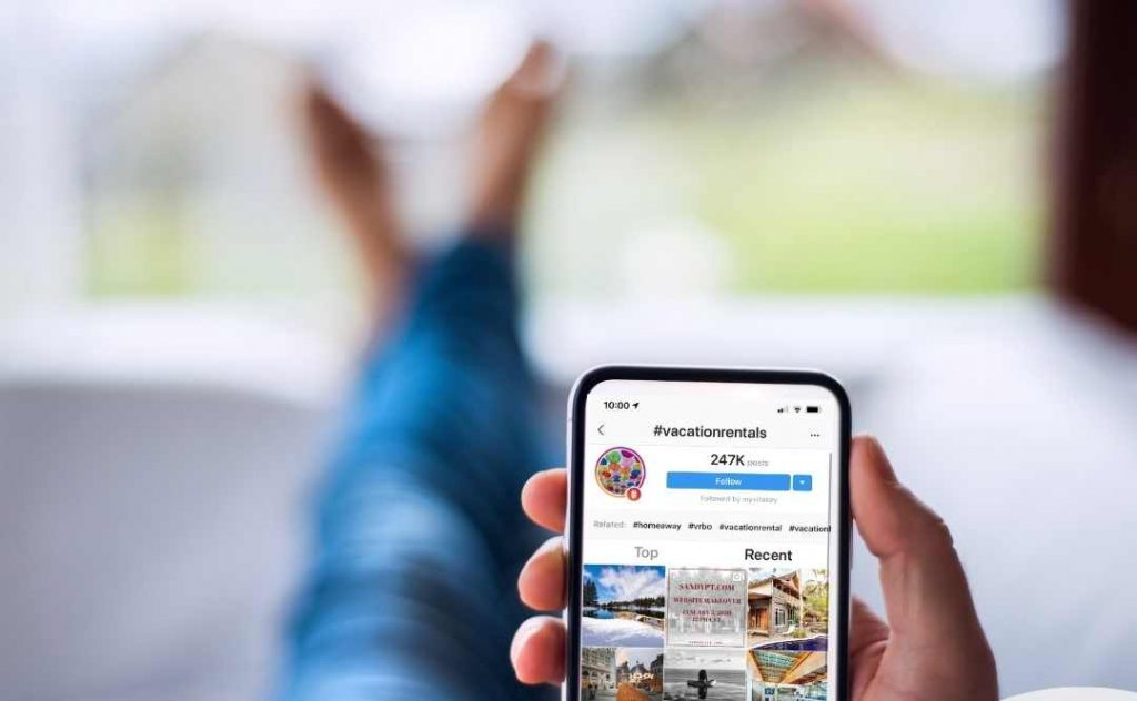 Instagram marketing for vacation rentals